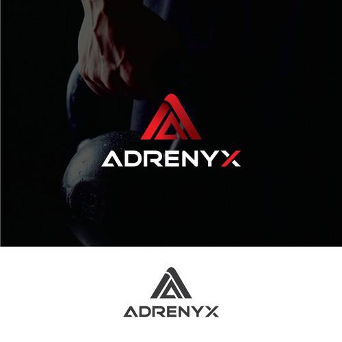 Adrenux logo design
