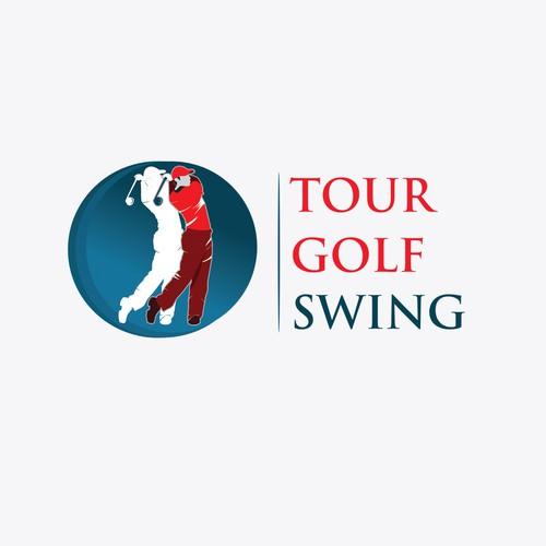 Logo for a Golf instruction brand