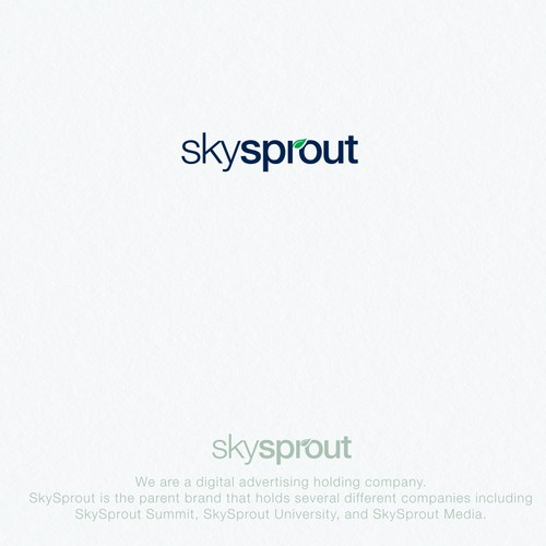skysprout concept branding
