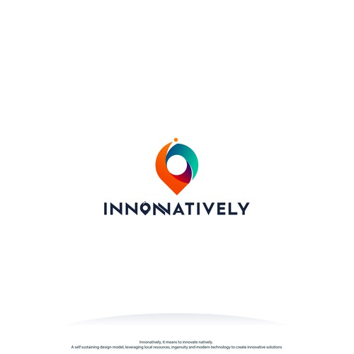 Colorful creative logo for Innonatively
