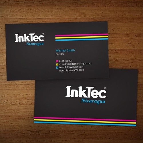 Create the next stationery for Inktec Nicaragua