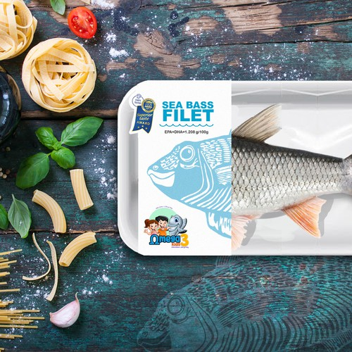 Sea Bass Filet omega3 kids