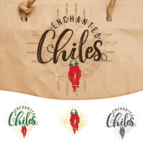 Stamp style for chile company
