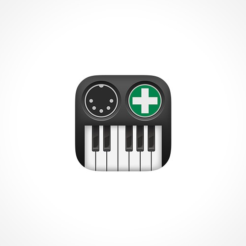 iOS/OSX App Icon for a MIDI application