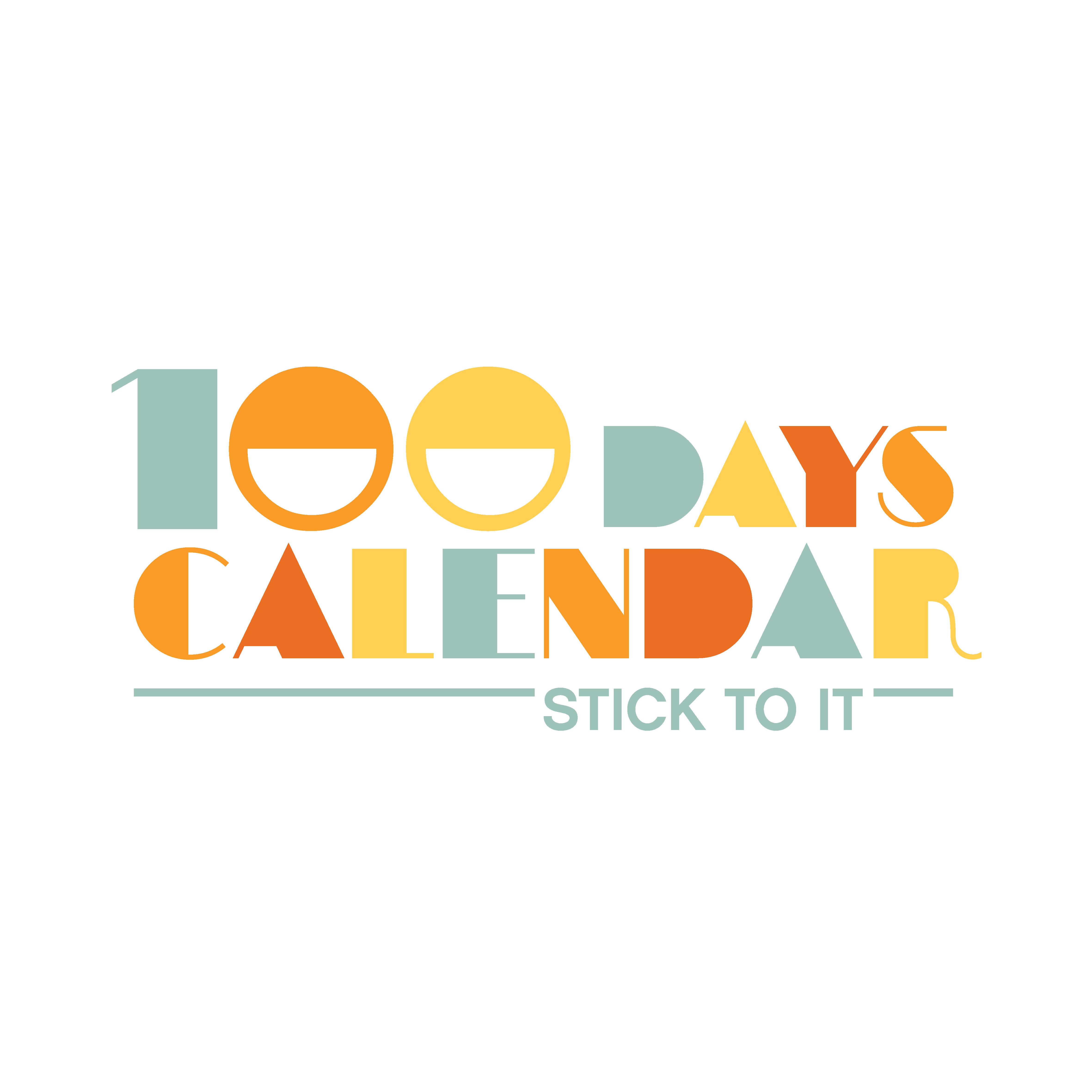 Product Logo for a Motivational Calendar Series - Wordmark Preferred
