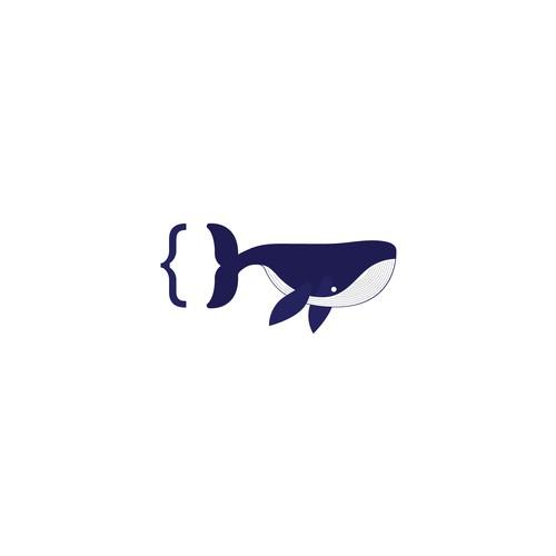 Ocean inspired software engineer logo