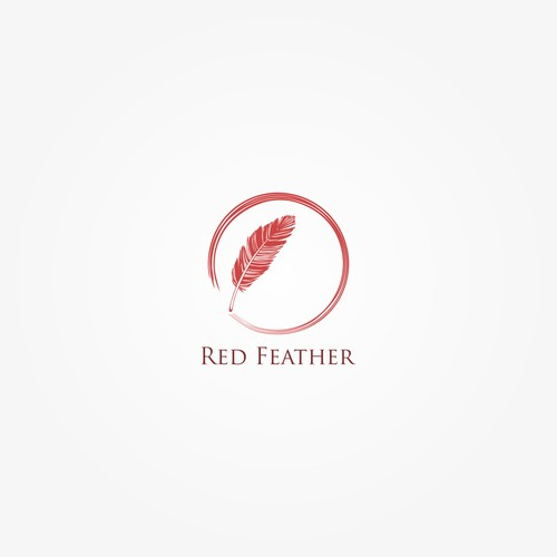 Logo for Red Feather