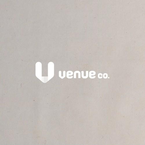 Clean logo for a venue website who provide virtual tours