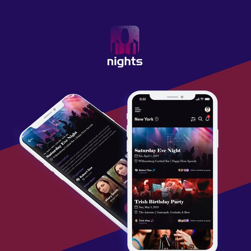 Nights Mobile App