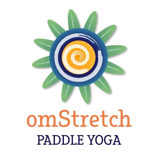 Logo for yoga classes