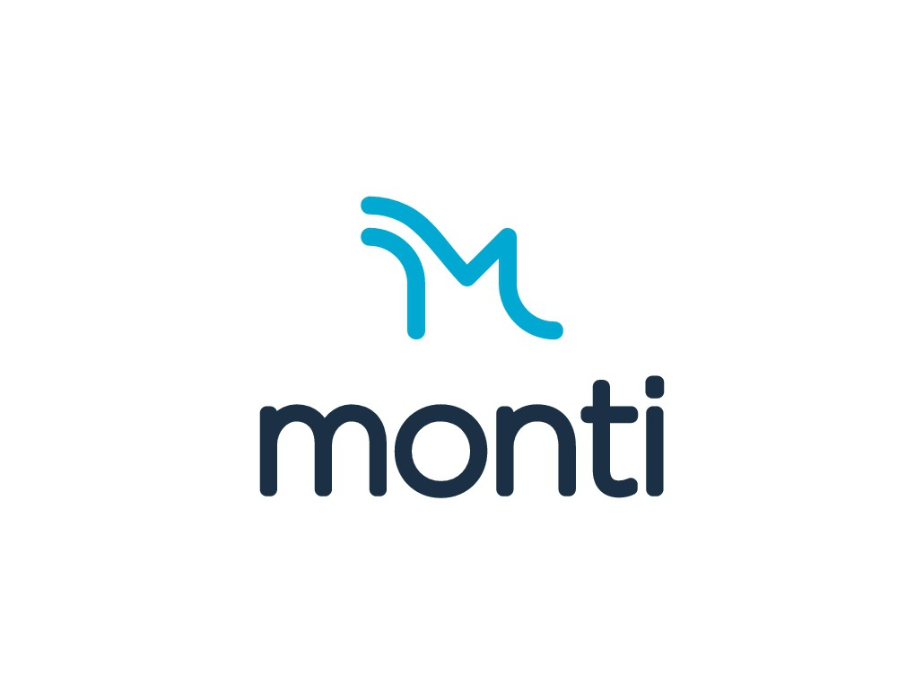 """Hip and Outdoorsy Logo for a Outdoor Gear Company """"monti"""""""