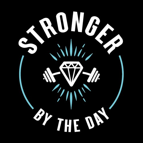 Stronger By The Day - Logo Concept