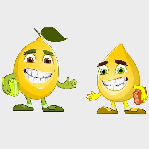 Create Lemon and Lemon Drop Characters