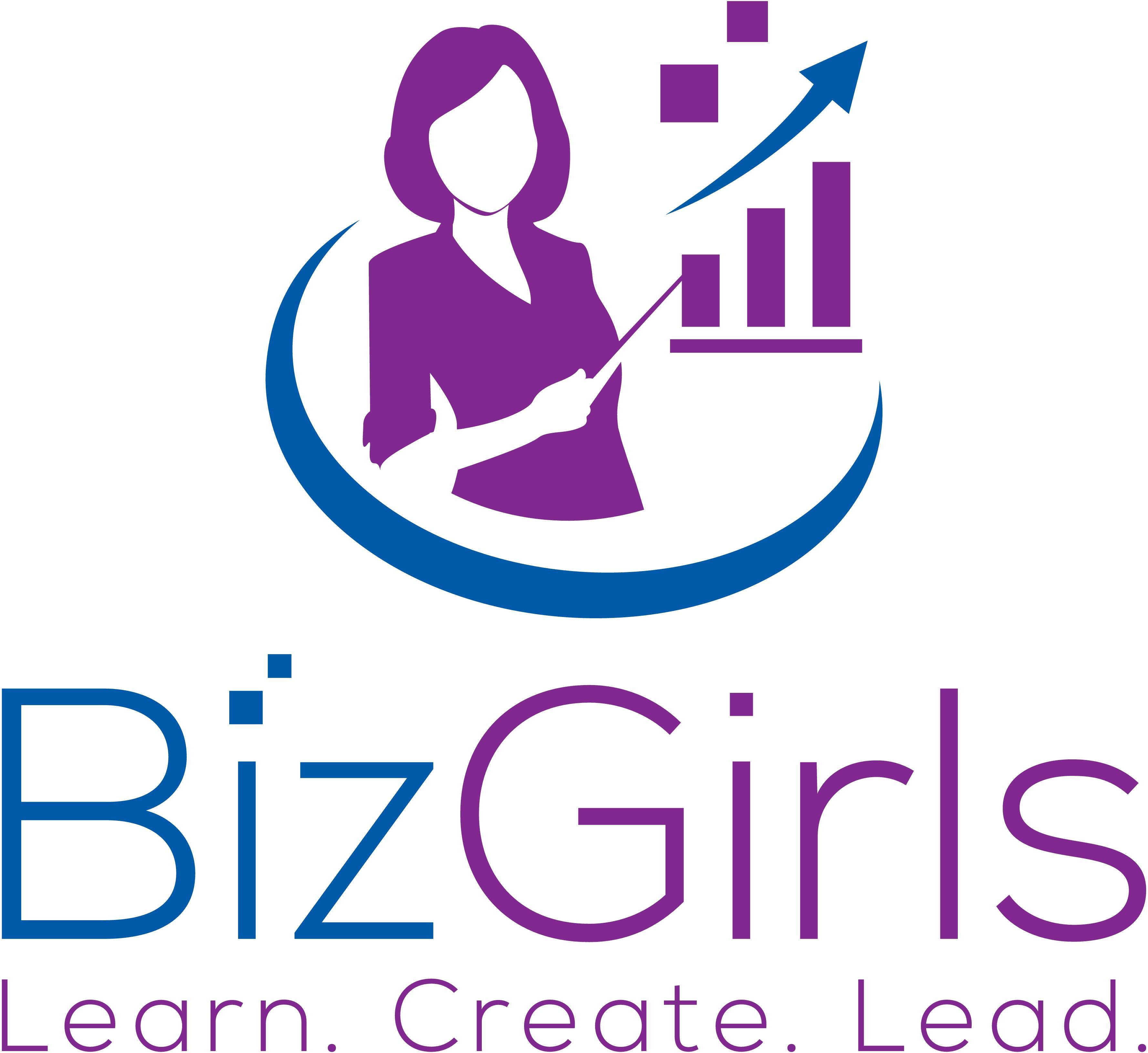 Create a modern logo for Biz Girls.