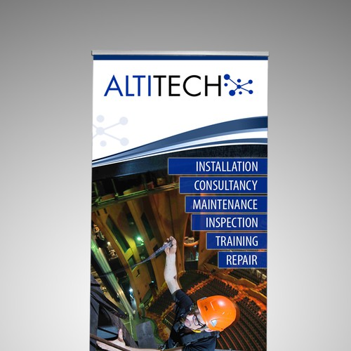 Standee for ALTITECH