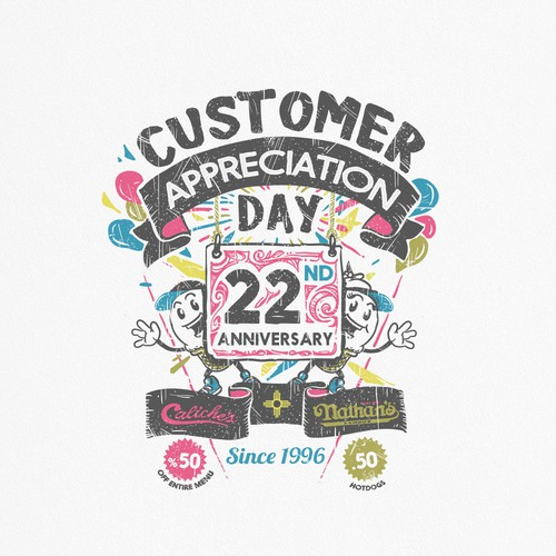 Caliche's Frozen Custard's Customer Appreciation Day Shirt