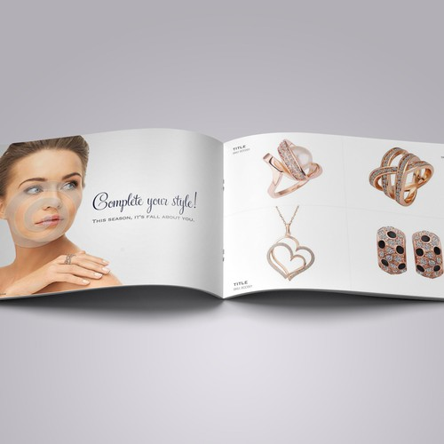Design an Elegant Brochure for Jewellerry Products