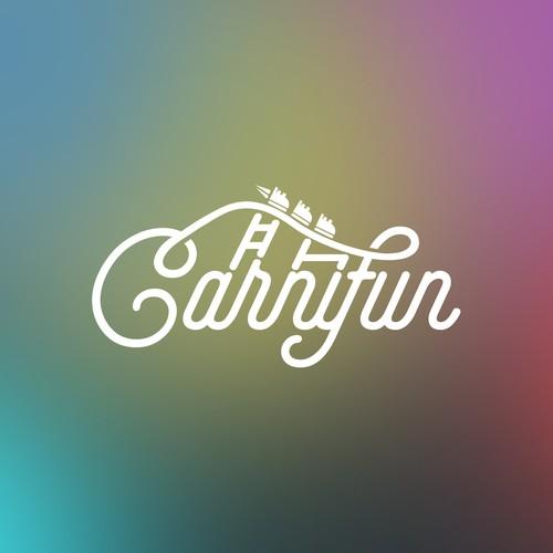 Sleek logo for Carryfun