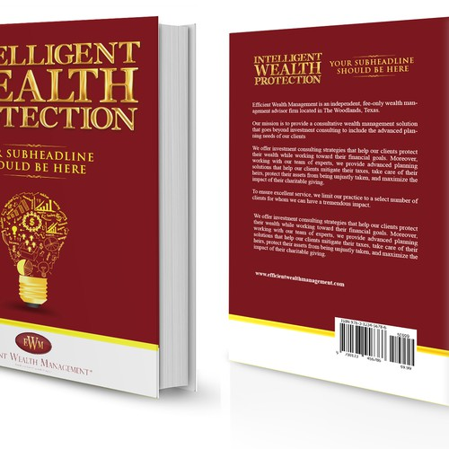 Creative Designer needed for Book Cover for Intelligent Wealth Protection Video Series