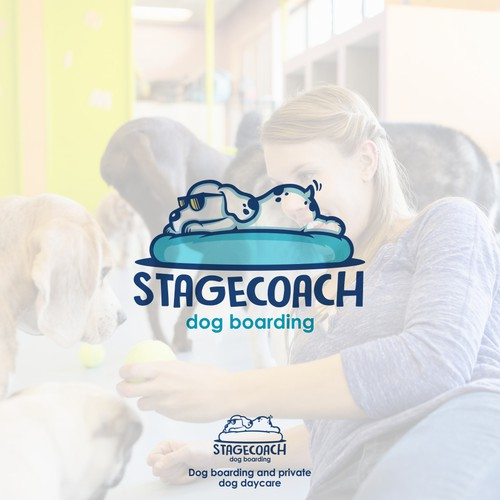 Logo for Doggy boarding business