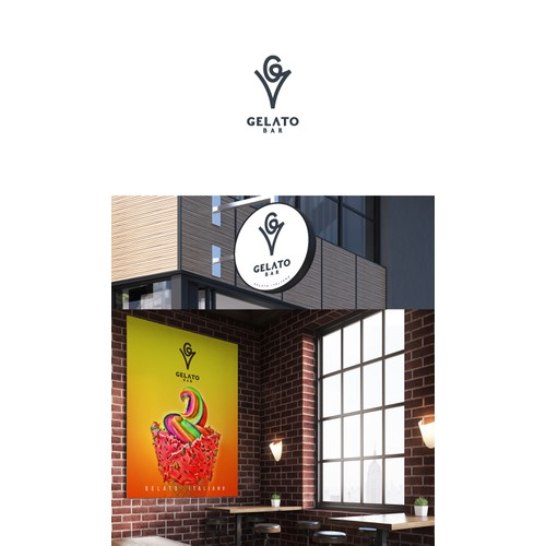 logo for Gelato Bar