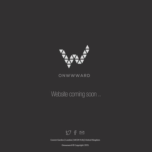 Create a beautiful and timeless logo for Onwwward, a new Web Development Company