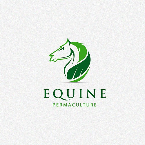 Logo design for Equine Permaculture Service.