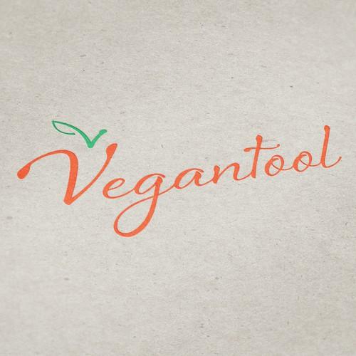 Create a winning logo for a vegan website. Enjoy!