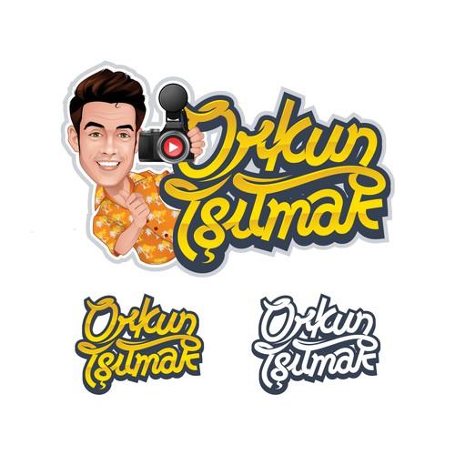 Social Media Logo Character & Typography Logo