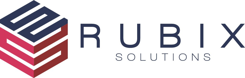 Rubix Solutions, a consulting and technology company, needs a sleek, modern, minimalist cube logo