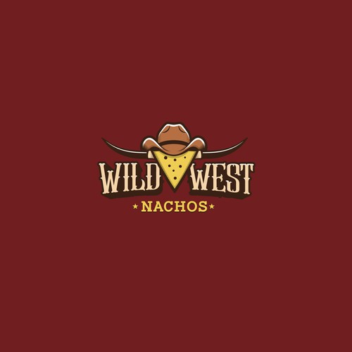 Western logo concept for Wild West Nachos