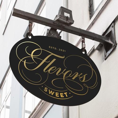 Flevors Sweet Café Logo
