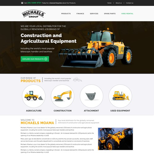 Michaels group of website