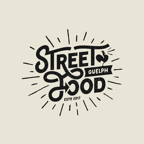 Create a trendy, vintage-inspired logo for a new Food Truck!