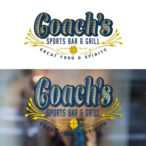 Concept for Upscale Sports Bar in College Town