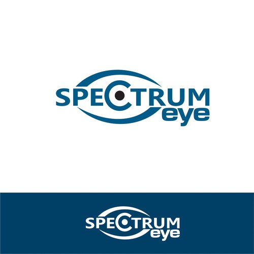 Spectrum Eye logo design.