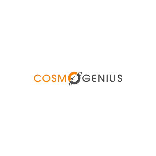 Simple Modern Cosmo Genius logo designs