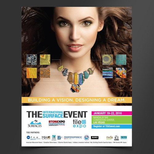 Ad Design Concept for Surface Tile Event