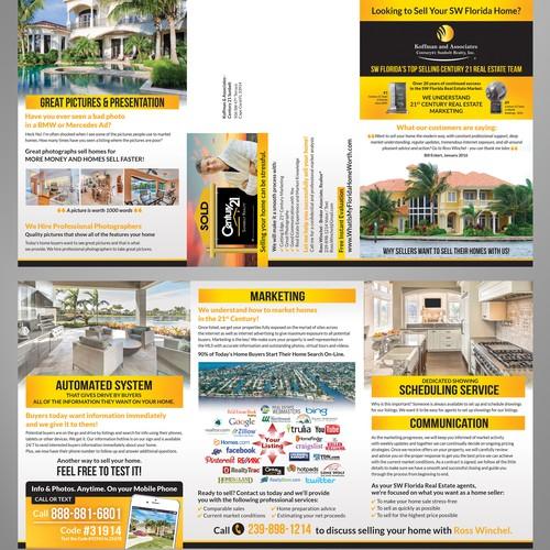 marketing home sales brochure