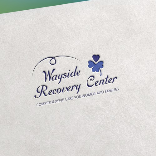 A new logo for a recovery center.