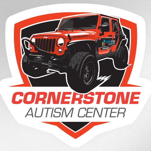Jeep sticker design