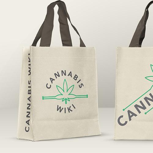 Cannabis company logo