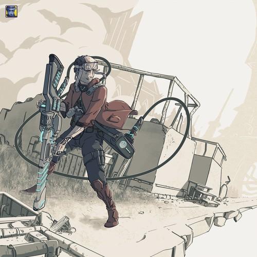 Sidekick Character Concept