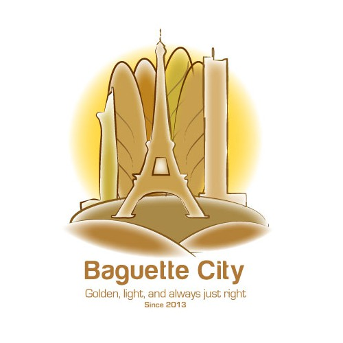 Guaranteed! Design a logo for Baguette City! Any level of creativity welcome!