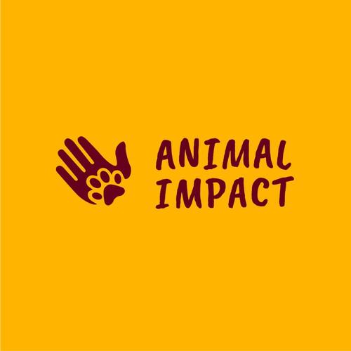 Logo Concept 2   Animal Impact