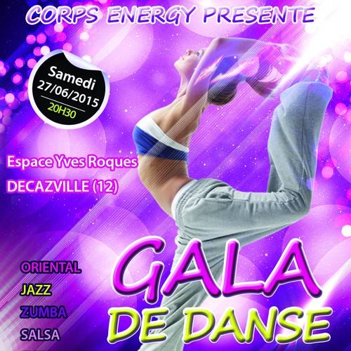Créer une affiche Gala Corps Energy 2014 captivante !!!