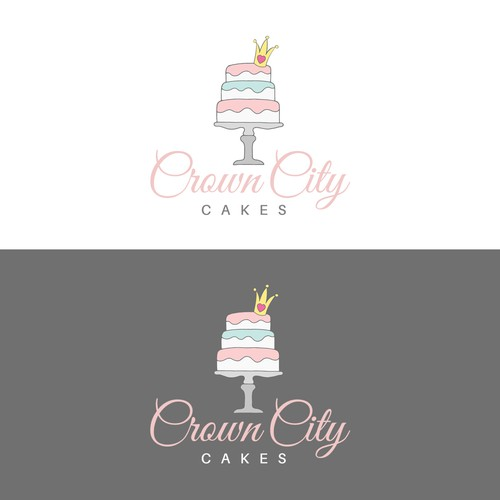 Crown City Cakes - Logotype