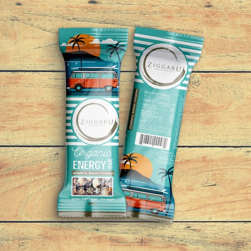 Organic Energy Bar Natural Ingredients