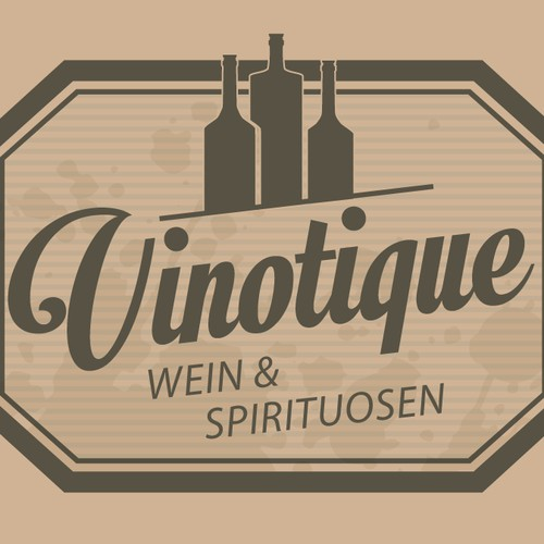 New logo for a wine/spirit web shop