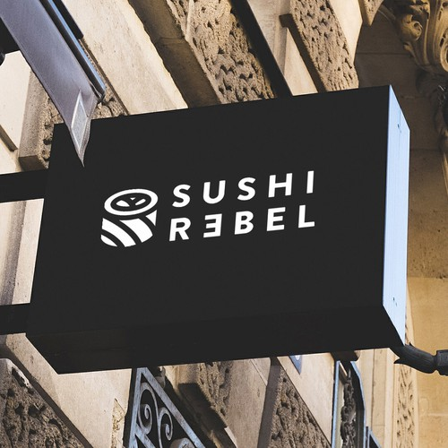 Logo for Sushi Rebel